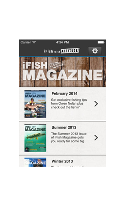 iFish Magazine - Taking Digital Fishing Magazines to the next level