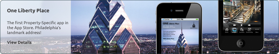 One Liberty Place iPhone App